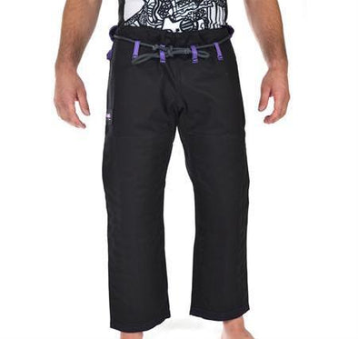 """Hooks V3"" Black BJJ Gi Pants (Male & Female Options)"