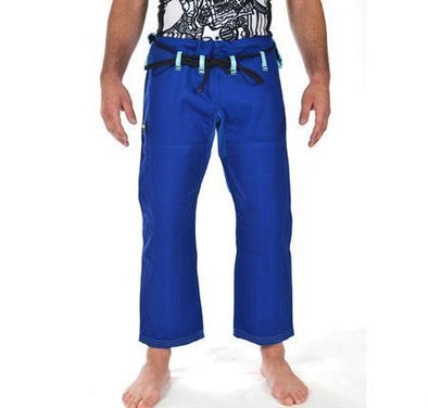 """Hooks V3"" Blue BJJ Gi Pants (Male & Female Options)"