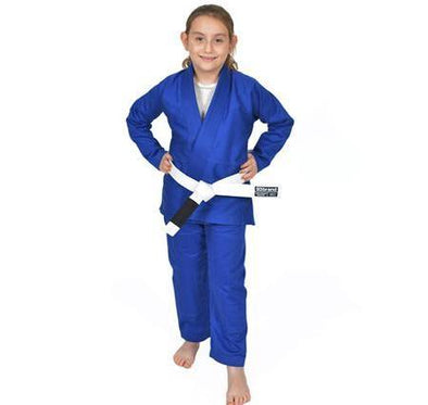 """Standard Issue"" Children's Blue Jiu Jitsu Gi"