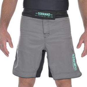 93 Brand 'Standard Issue' Shorts (Charcoal/Mint)