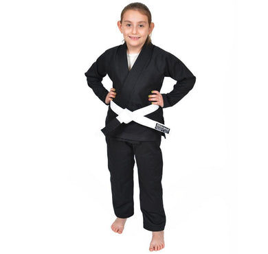 Custom Academy Children's Jiu Jitsu Gi Bundles - Standard Issue Black