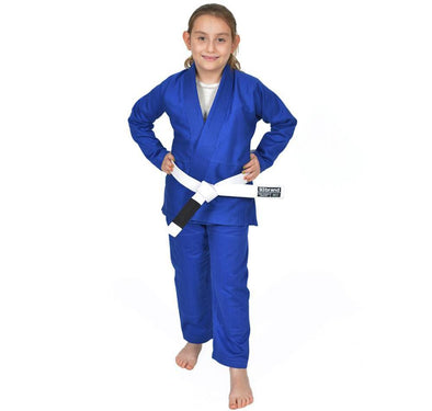 """Standard Issue"" Blue - Kids Jiu Jitsu Gi"