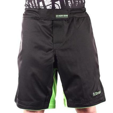 93 Brand 'Standard Issue' Shorts (Black/Green)