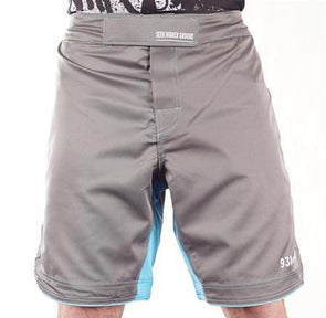 93 Brand 'Standard Issue' Shorts (Grey/Blue)