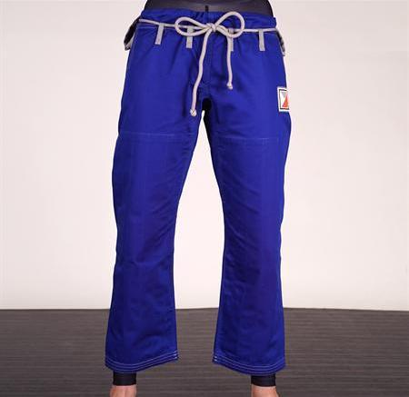 """Hooks 2.0"" Women's Blue BJJ Gi Pants"