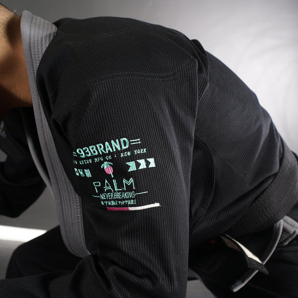 """Palm"" Black Women's Jiu Jitsu Gi"