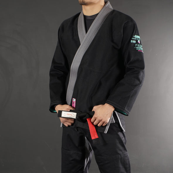 """Palm"" Black Jiu Jitsu Gi"