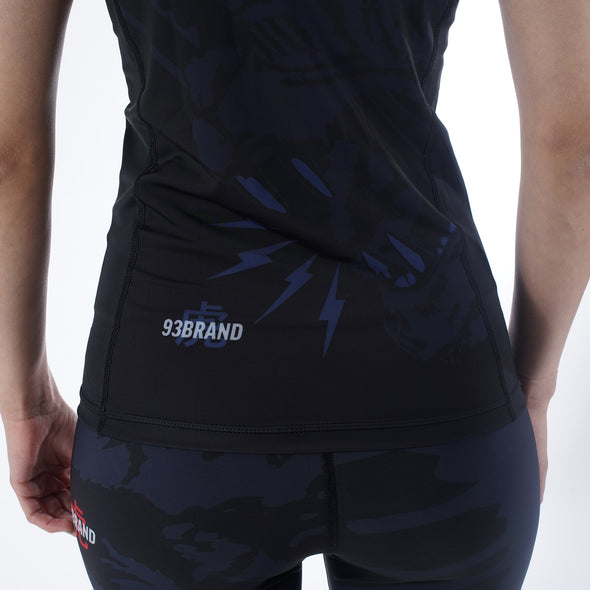 """Dark Tiger"" Women's Rash Guard"