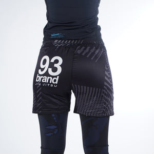 "93 Brand ""Citizen 3.0"" BJJ Shorts - Women's Cut"