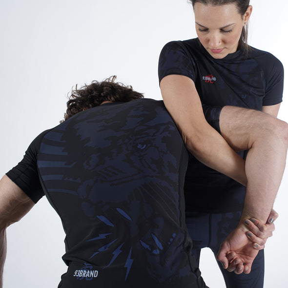 """Dark Tiger"" Rash Guard"