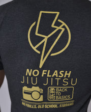 "93 Brand ""No Flash Jiu Jitsu"" Men's Tee"