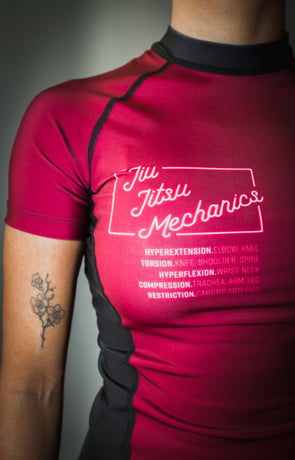 """Mechanics"" Women's Rash Guard"