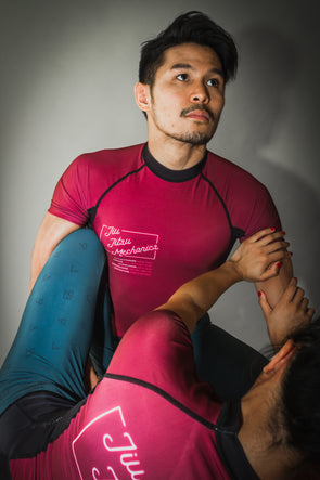 """Mechanics"" Rash Guard"