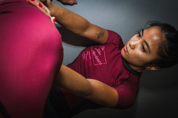 """Jiu Jitsu Mechanics"" Women's Rash Guard"