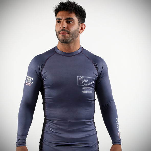 """Mechanics V2"" Rash Guard"