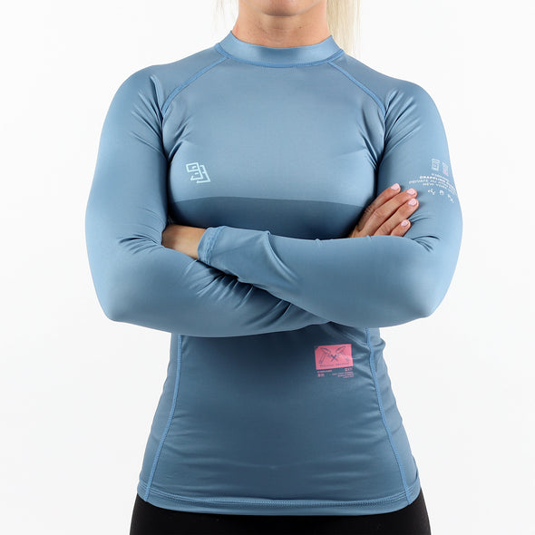 """Grappling Clinic"" Women's Rash Guard"