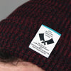 """Body Butchers"" Burgundy Marl Beanie"