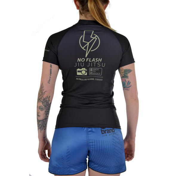 """No Flash"" Women's Rash Guard"