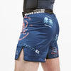 """Splatter V2"" Navy Blue Shorts (Short Length)"