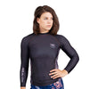 """Wind Camo"" Women's Ranked BJJ Rash Guards (All Colors)"