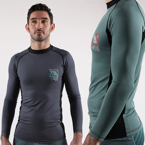 2019 Standard Issue LS Rash Guards 2-PACK (Sage Green, Slate Grey)