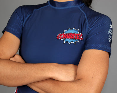 """Combate!"" Women's Rash Guard"