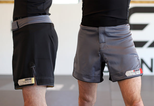 Standard Issue Shorts 2-PACK (Short Length) Black & Grey