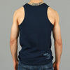 """Monogram"" Tank Top - Navy"