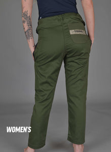 "93 Brand ""Jiu Jitsu Originals"" Casual Gi Pants - Olive Drab Edition"