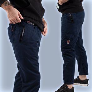 """Butterfly Originals"" Casual Gi Pants - Dark Blue"