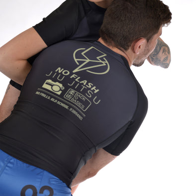 """No Flash"" Rash Guard"