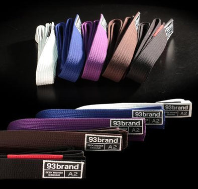 Jiu Jitsu Rank Belts (All Colors)