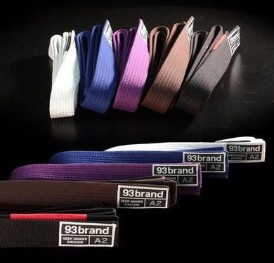 Bundle of 12 Rank Belts (Adult)