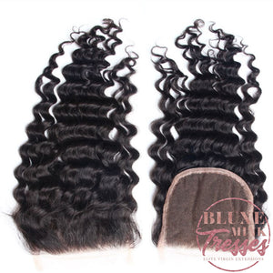 Deep Wave Lace Closures