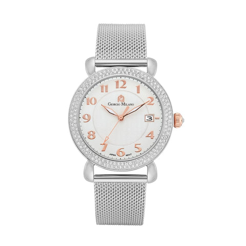 957 (Silver/Rose Gold) Giorgio Milano Watches