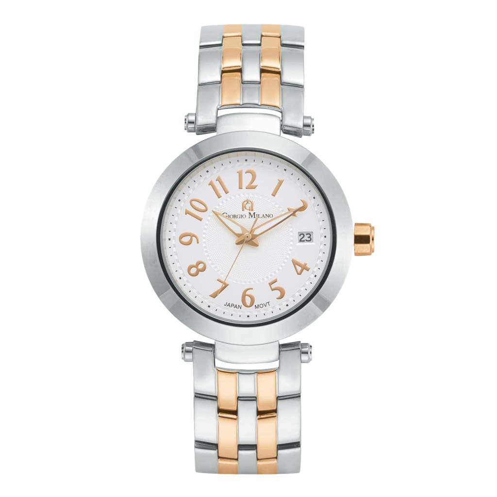 ELENA (Rose Gold Two Toned Silver) Giorgio Milano Watches