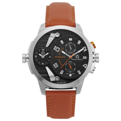 ETTORE (Silver/Black/Orange) Giorgio Milano Watches