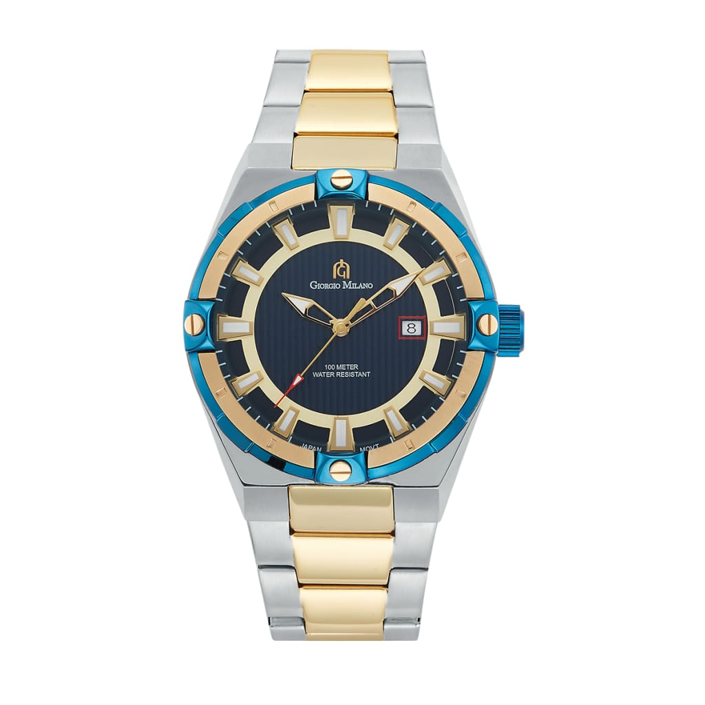 LUCIANO (Two Tone Blue) Giorgio Milano Watches