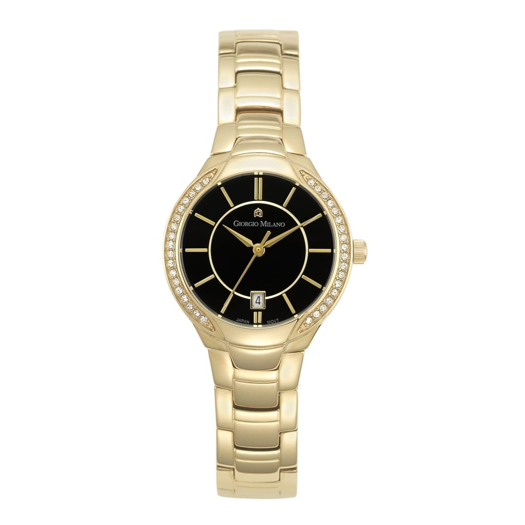 OLIVIA (Gold/Black) Giorgio Milano Watches