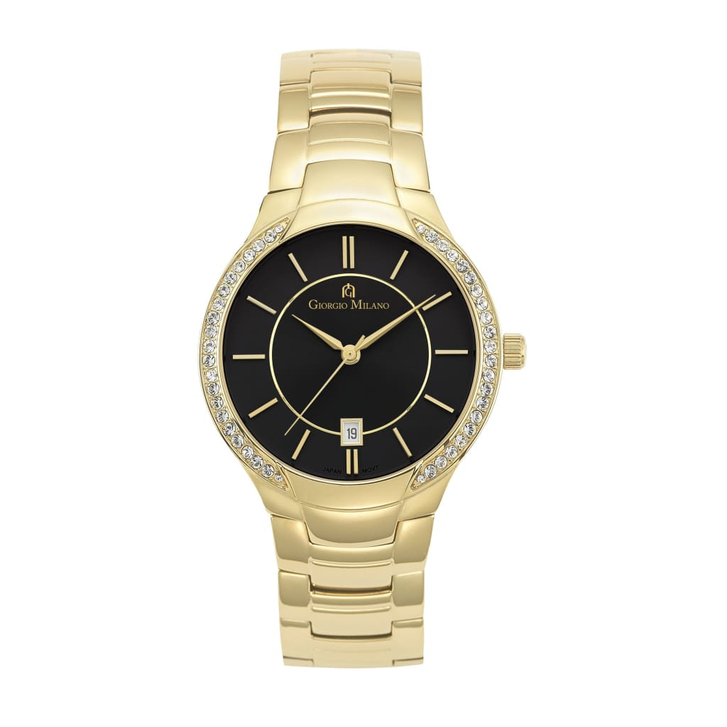 OLYMPIA (Gold/Black) Giorgio Milano Watches