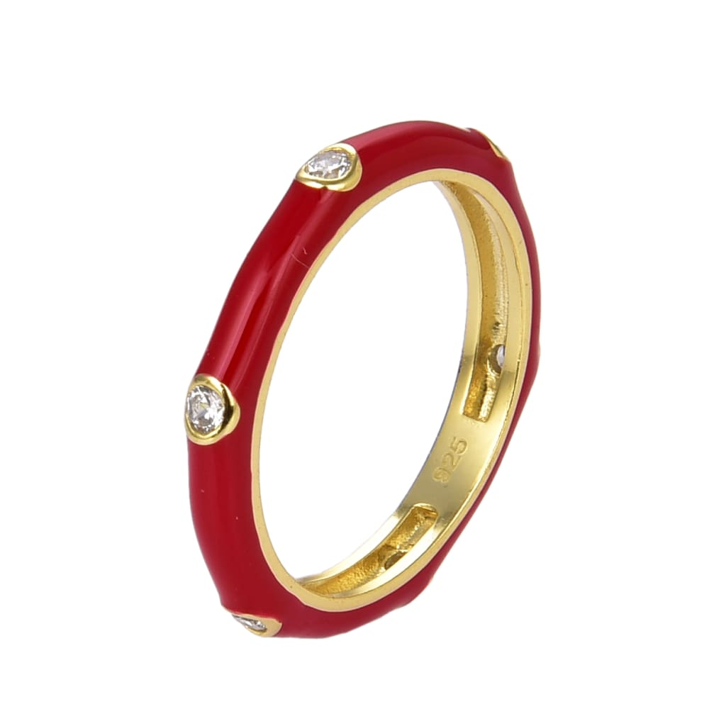 R-1062 (Size 5 / Red) Giorgio Milano Jewelry and watches Jewelry