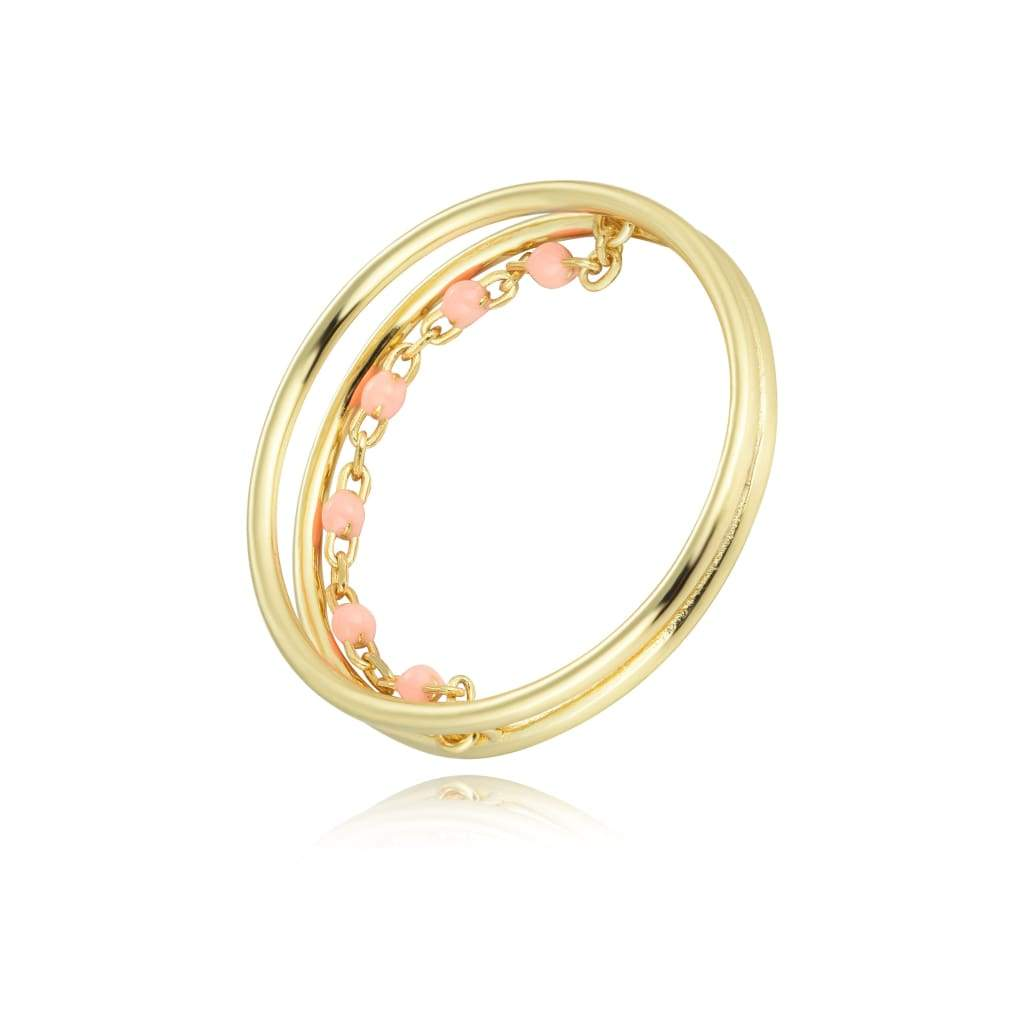 R-1102 (Gold/Pink / 6) Giorgio Milano Jewelry and watches Jewelry