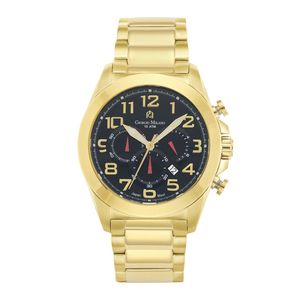 SAVIO (Gold/Black) Giorgio Milano Watches