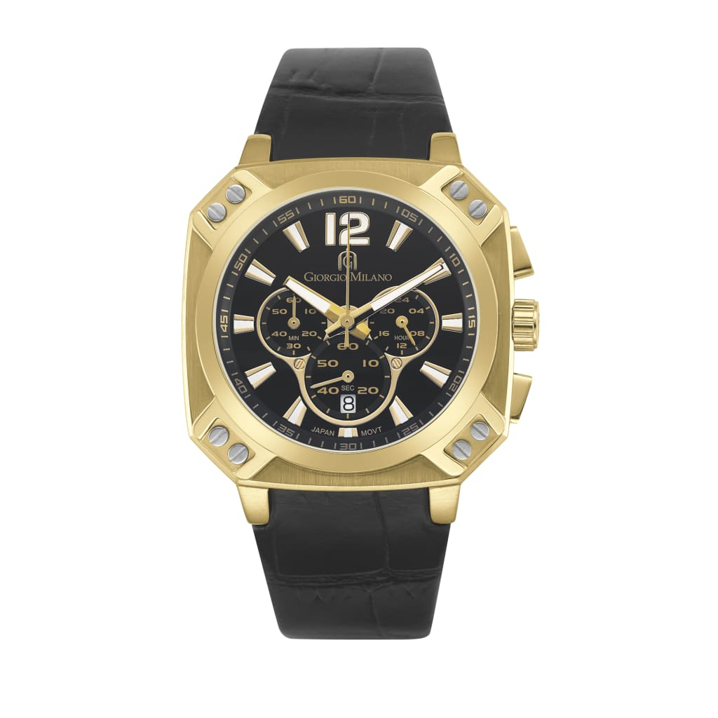 TEMPO (Gold/Black) Giorgio Milano Watches