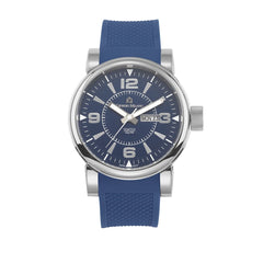 VINCENZO (Silver/Blue/Blue) Giorgio Milano Watches