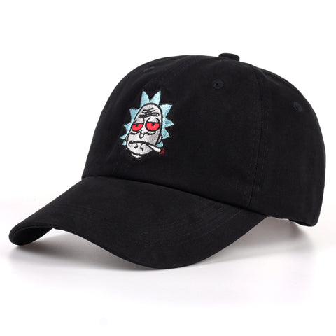 Rick and Morty Rick Red Eyes Adjustable Cap