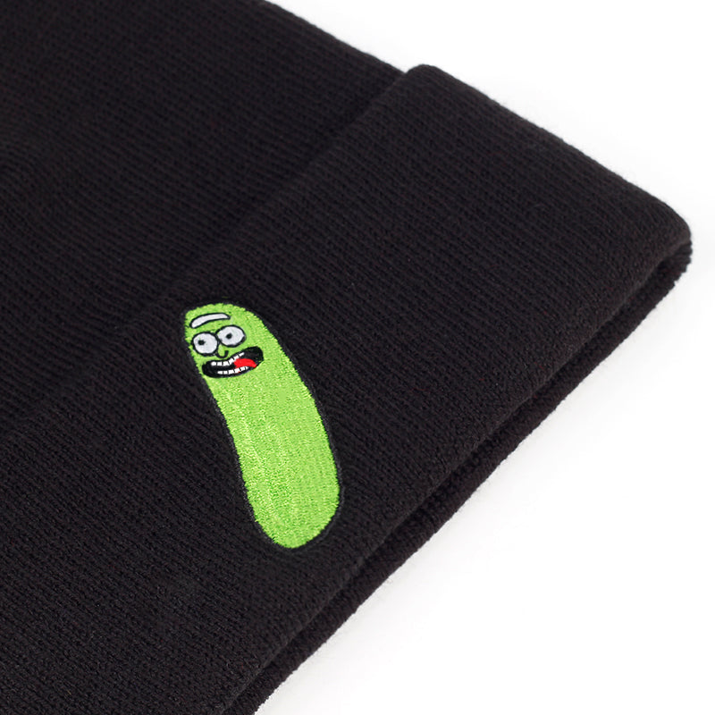 Rick and Morty Pickle Rick Knitted Beanie