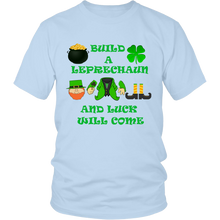Build A Leprechaun And Luck Will Come Unisex T-Shirt