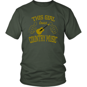 This Girl Loves  Country Music Unisex T-Shirt