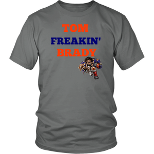Tom Freaking' Brady Patriots Quarterback Unisex T-Shirt gift